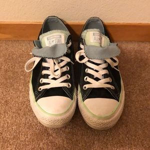 Women's Converse All Star Black  Chucks Size 8